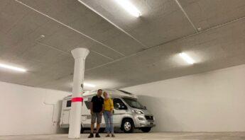 Noch 1 Platz verfügbar! Neu erstellte Tiefgaragenplätze für Wohnmobile in Dintikon/AG zu vermieten